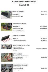 Rennes Motoculture MX C2 Accessoires 00