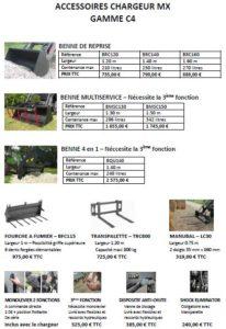 Rennes Motoculture MX C4 Accessoires 00