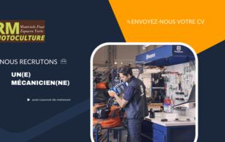 RM Motoculture Motoculture Mecanique