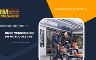 RM Motoculture Motoculture Vendeur